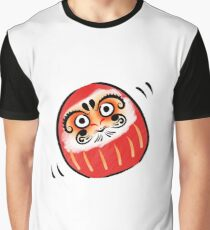 Daruma-san Graphic T-Shirt