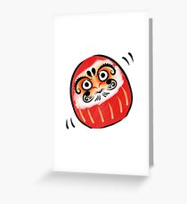 Daruma-san Greeting Card