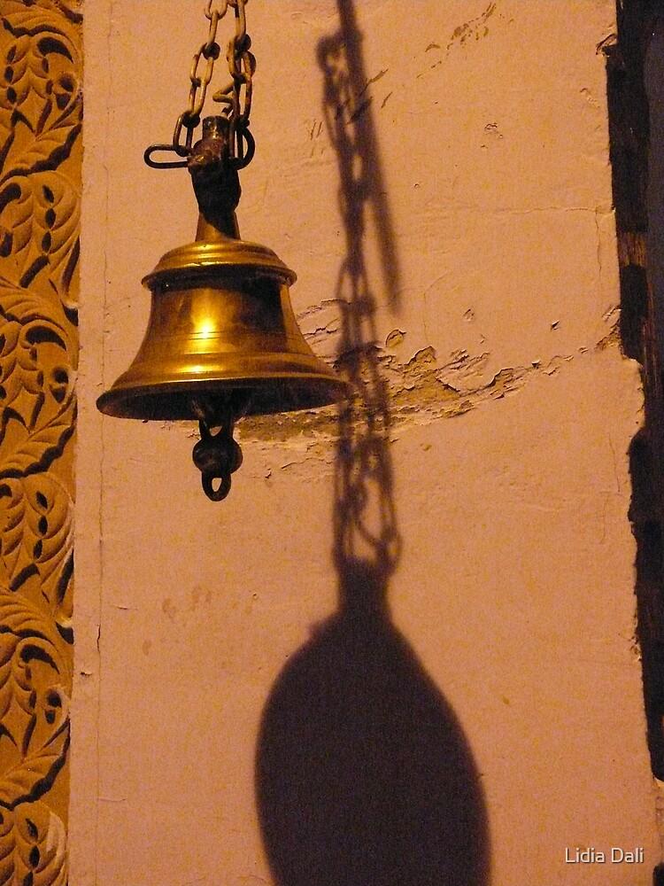 Bell in a Jain Temple by Lidiya