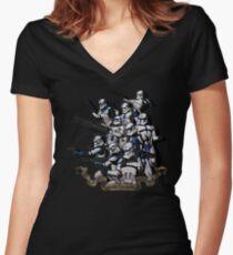 501st Women's Fitted V-Neck T-Shirt