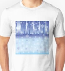 Winter Forest Unisex T-Shirt