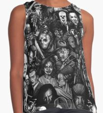 Classic Horror Movies Contrast Tank