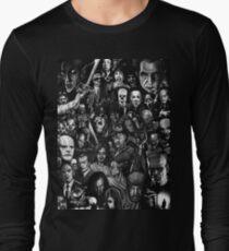 Classic Horror Movies Long Sleeve T-Shirt
