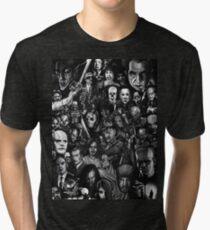 Classic Horror Movies Tri-blend T-Shirt