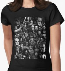 Classic Horror Movies Women's Fitted T-Shirt