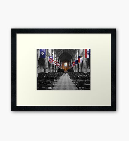 All Saints' Chapel-University of the South Framed Print