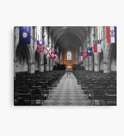 All Saints' Chapel-University of the South Metal Print