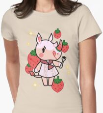 Merengue of Animal Crossing Women's Fitted T-Shirt