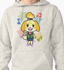 Isabelle of Animal Crossing Pullover Hoodie