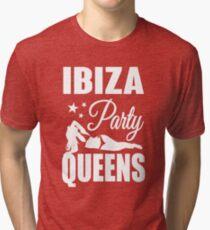 Ibiza Party Queens Tri-blend T-Shirt