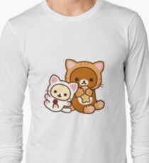 Rilakkuma - Cat Long Sleeve T-Shirt