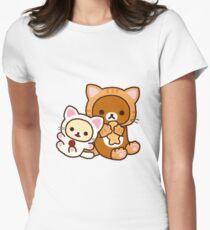 Rilakkuma - Cat Womens Fitted T-Shirt