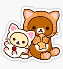 Rilakkuma - Cat Sticker
