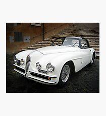 Alfa Romeo - Rome Photographic Print