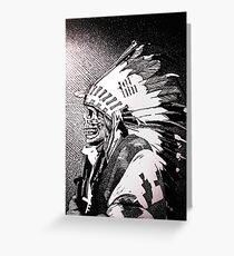 Sioux Greeting Card