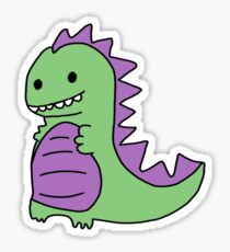 green dinosaur or dragon (norm) Sticker