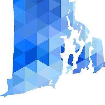 RI - Azul geométrico de cjackvony