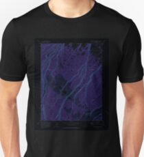 USGS TOPO Map Colorado CO Government Springs 400877 1973 24000 Inverted Unisex T-Shirt