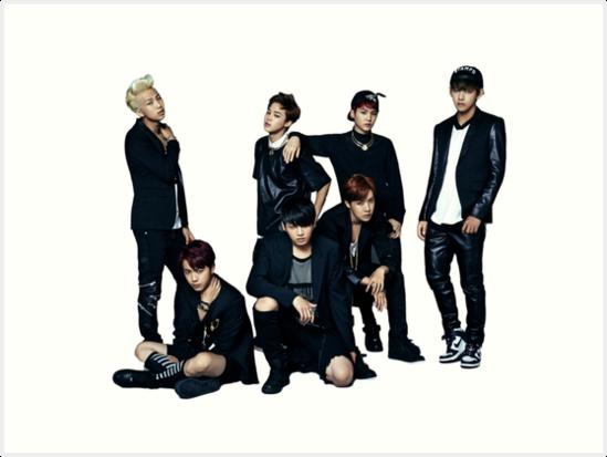 'BTS Danger' Art Print by kokkuma
