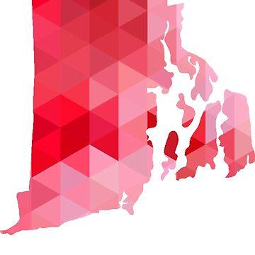 RI - Rojo geométrico de cjackvony