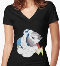 Dashie Women's Fitted V-Neck T-Shirt