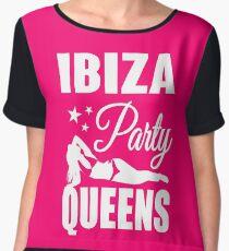 Ibiza Party Queens Women's Chiffon Top