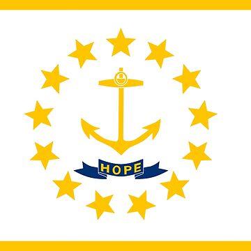 Bandera de Rhode Island de cjackvony