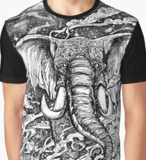 Elephant Night March Graphic T-Shirt