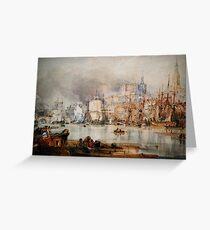 Newcastle Upon Tyne 1847 Greeting Card