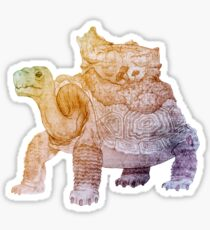Galapagos Turtle With Flora Sticker