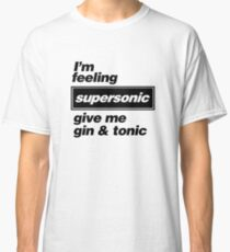Oasis - Supersonic Lyrics Design Classic T-Shirt
