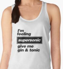 Oasis - Supersonic Lyrics design Women's Tank Top