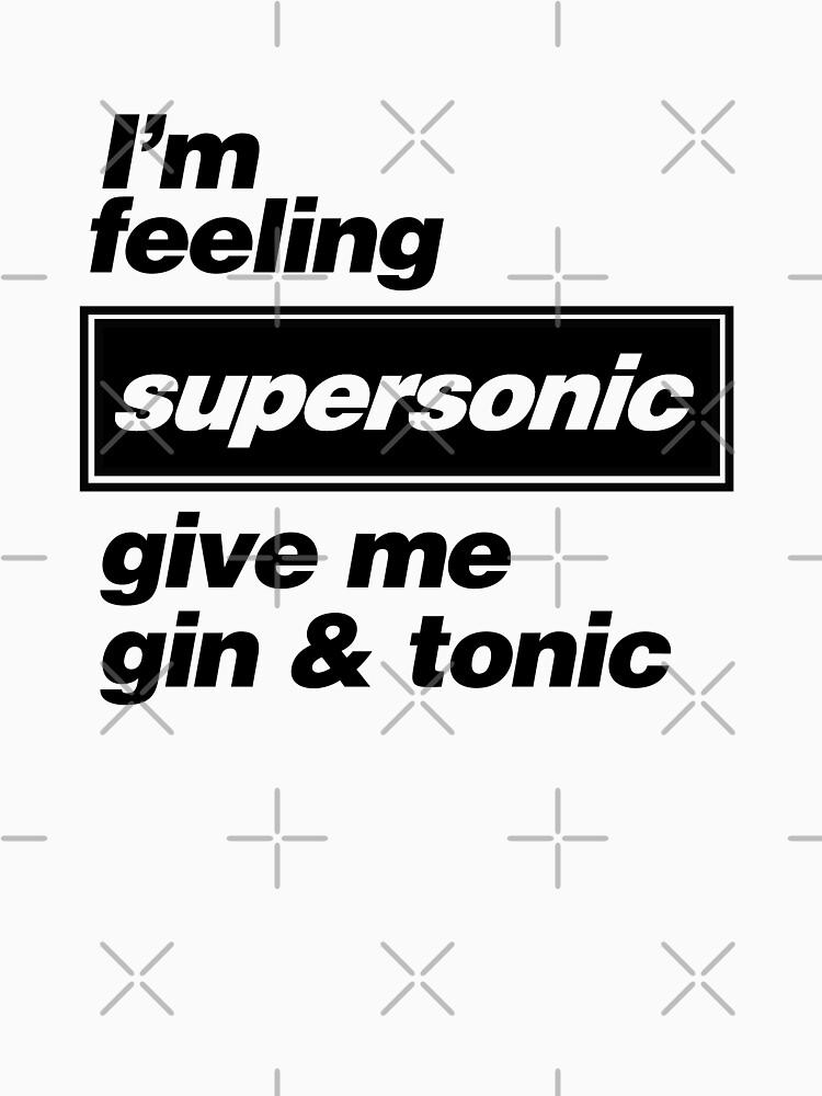 Oasis - Supersonic Lyrics diseño de DesignedByOli