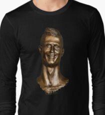 Cristiano Ronaldo Statue/Bust Long Sleeve T-Shirt