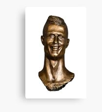 Cristiano Ronaldo Statue/Bust Canvas Print