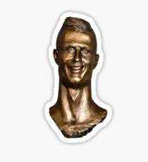 Cristiano Ronaldo Statue/Bust Sticker