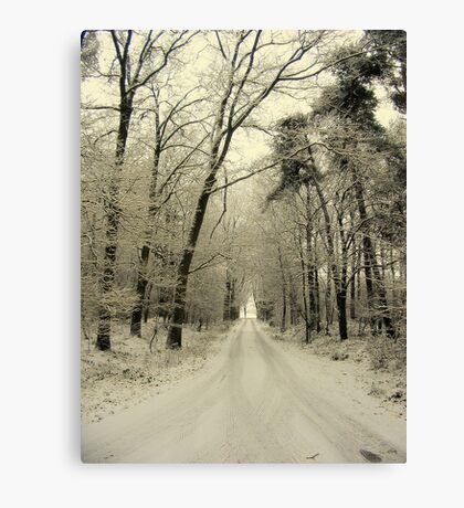 A New Year, The Road Ahead Canvas Print