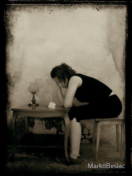 loneliness by MarkoBeslac
