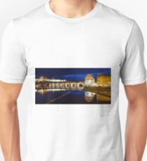 Prague Castle, Charles Bridge Unisex T-Shirt