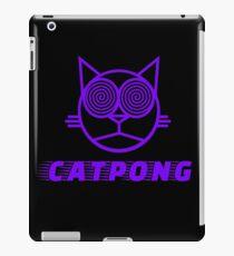 Cat pong iPad Case/Skin