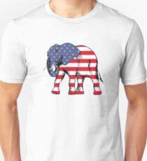 Republican Elephant Unisex T-Shirt