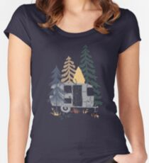 Wild Airstream... Women's Fitted Scoop T-Shirt