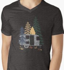 Wild Airstream... Men's V-Neck T-Shirt