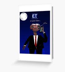 E.T Phone home Greeting Card