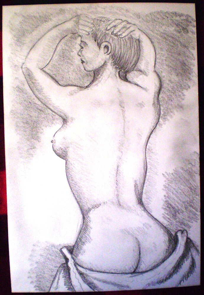 classic nude by madvlad