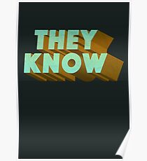 They Know Poster