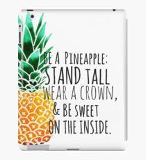 Be a Pineapple Plain iPad Case/Skin