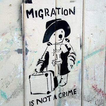 Migration Is Not A Crime by SuePorter