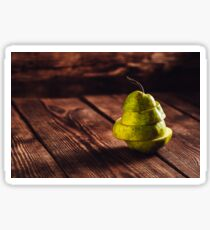 Sliced Pear Sticker