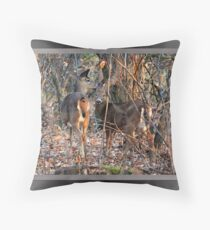 Whispers (card) Throw Pillow